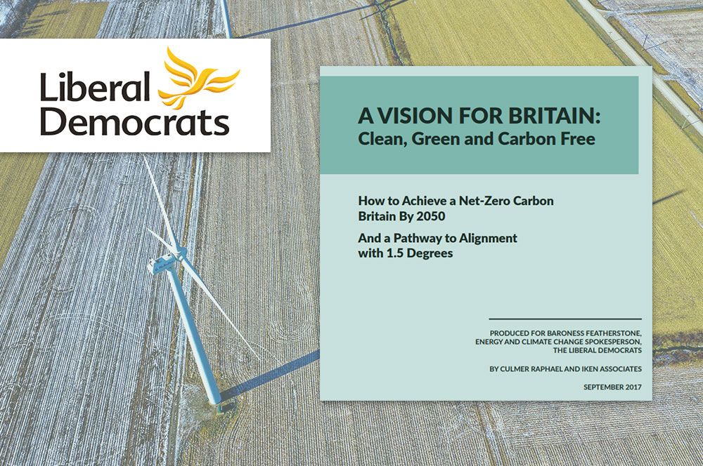 Devising a Plan for a Carbon-Neutral United Kingdom
