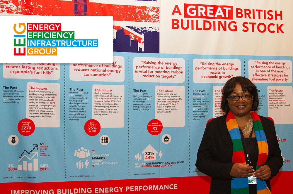 Ensuring Energy Efficiency becomes a UK Infrastructure Priority