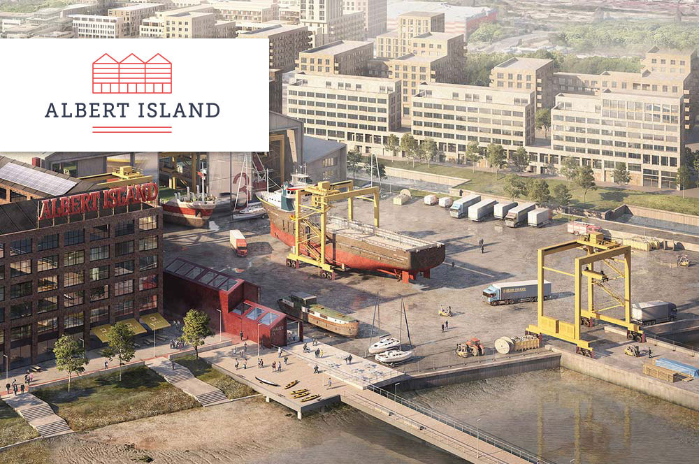 Winning the Albert Island bid and supporting the successful bid for the London Institute of Transport Technology